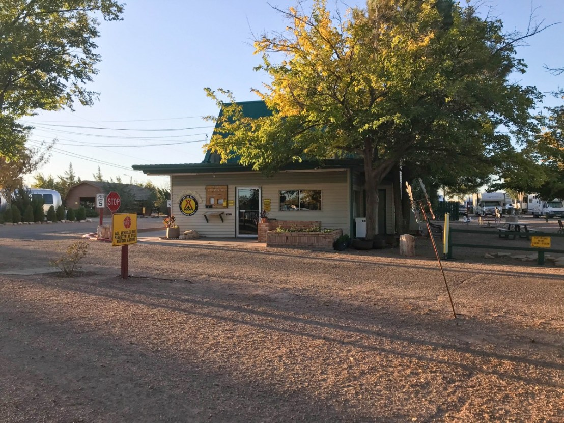 Campground Store, Restrooms and Laundry