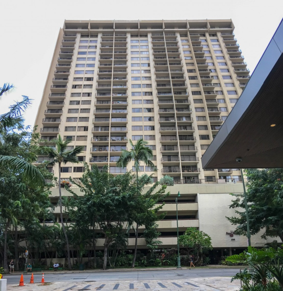 Four Paddle Condominium Building As Seen From Ritz-Carlton Residences