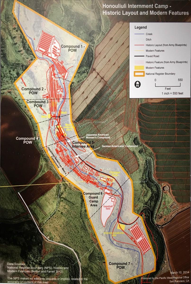 Honouliuli Site Map
