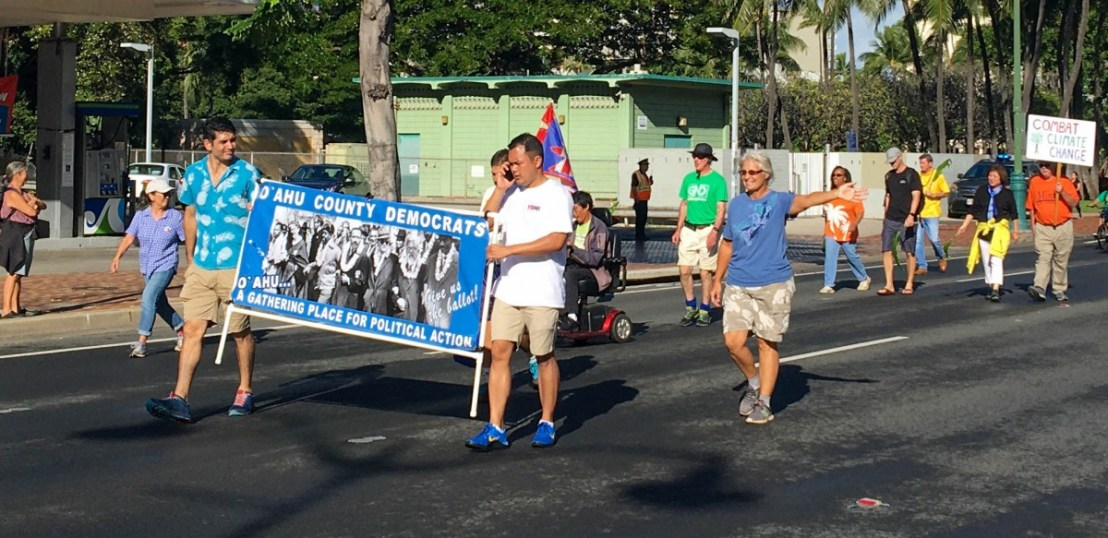 Marching County Democrats