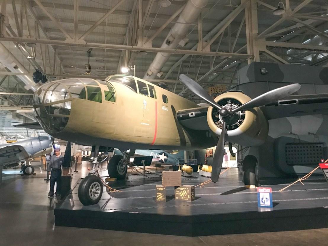Twin Engine B-25 Medium Bomber
