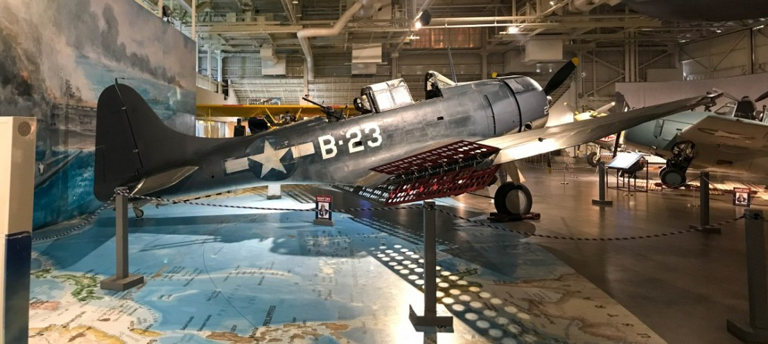 Douglas Dauntless B-23 Single Engine Fighter/Bomber