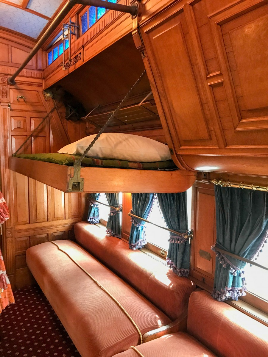 Flagler's Railcar Sleeping Accommodations