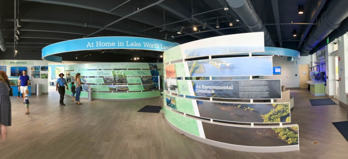 Manatee Lagoon FPL Eco-Discovery Center First Floor Display Space
