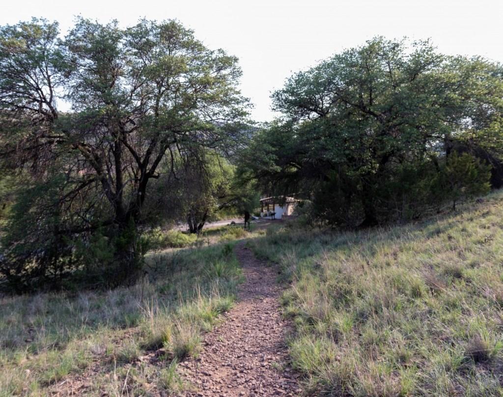 Wildlife Viewing Area And Montezuma Quail Trail Trailhead