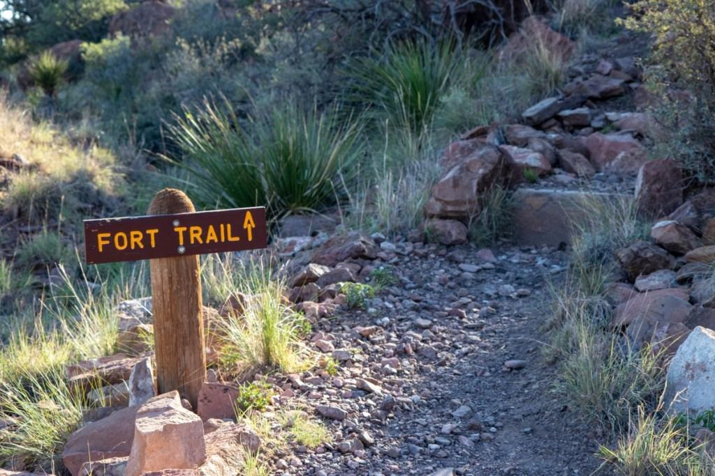 Fort Access Trail Trailhead