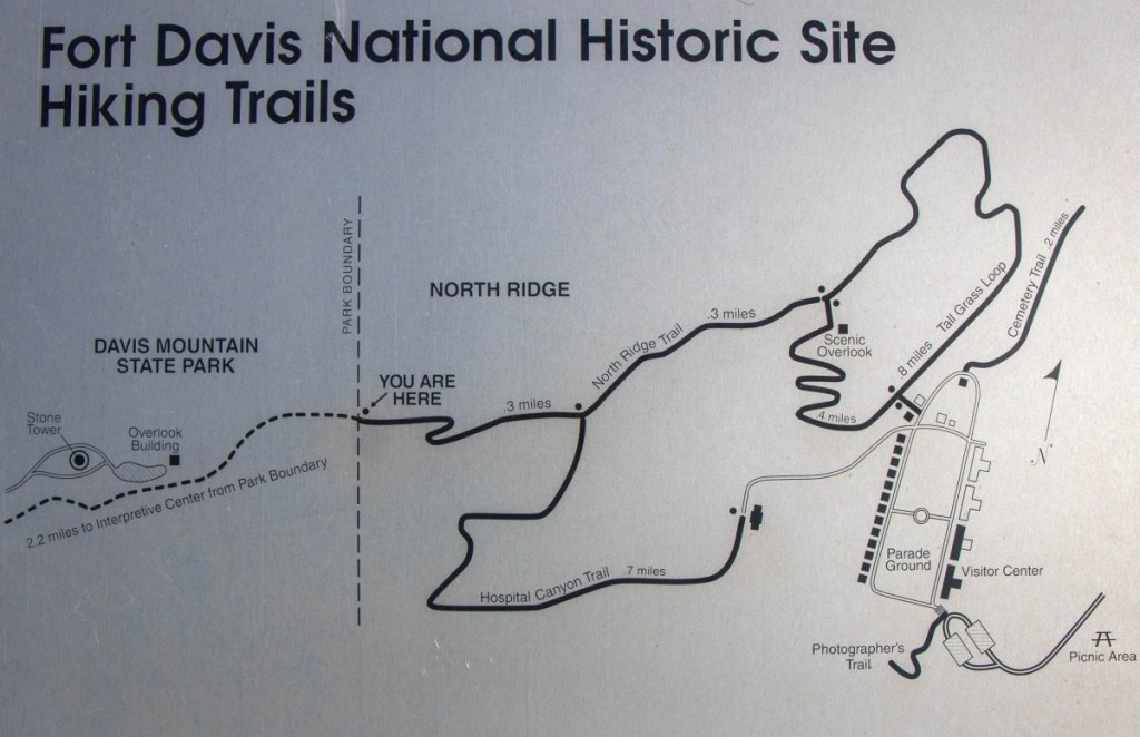 National Historic Site Trail Map