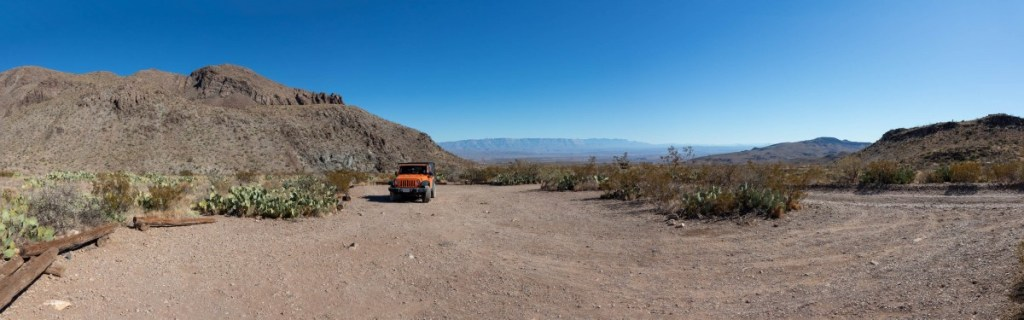 Second Pine Canyon Campsite