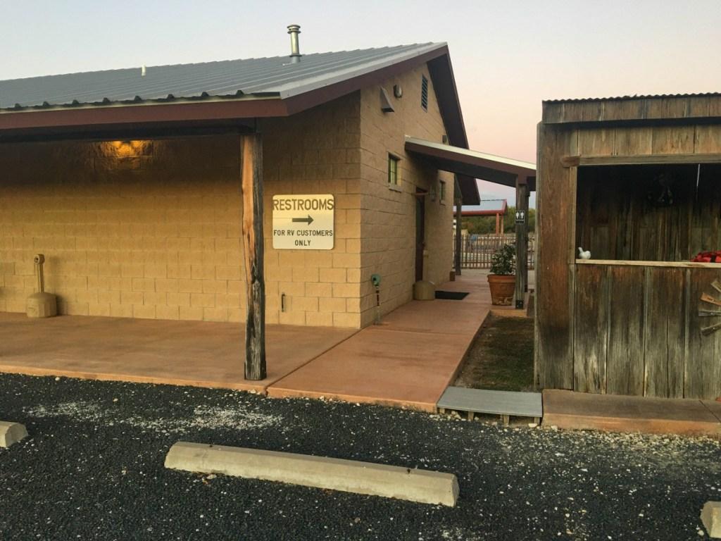 Broke Mill RV Park Restrooms/Showers
