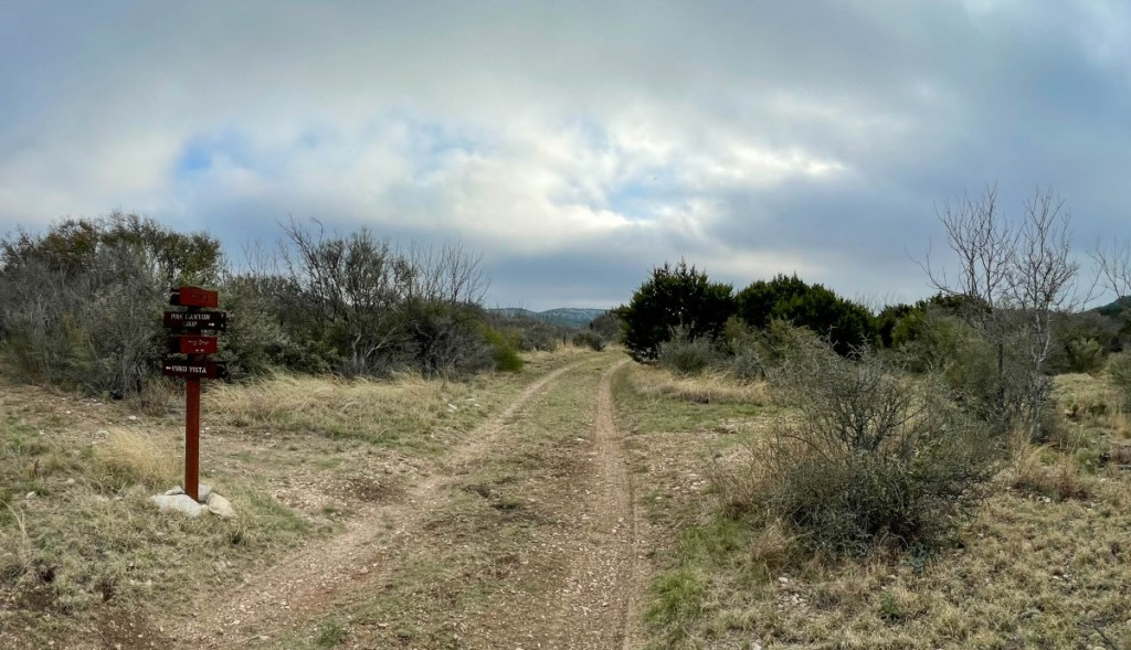 Pine Canyon Loop Ends Across From Vireo Vista At Indigo Creek Trail Crossing