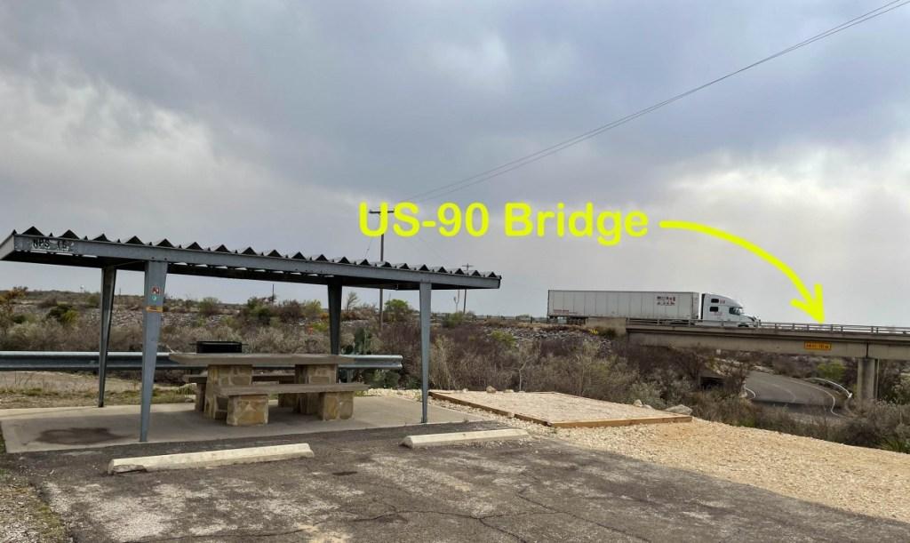 US-90 West Bound Traffic