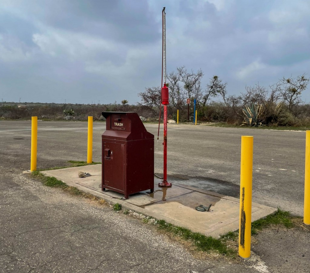 Only Dump Station In Amistad NRA