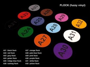 Flock (fuzzy vinyl)