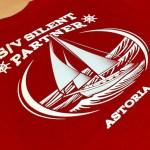 custom screenprinted tshirt with gradient