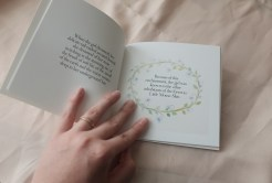 miniature fairy tale book with illustrations
