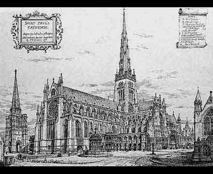 Old St. Paul's Cathedral « The Freelance History Writer