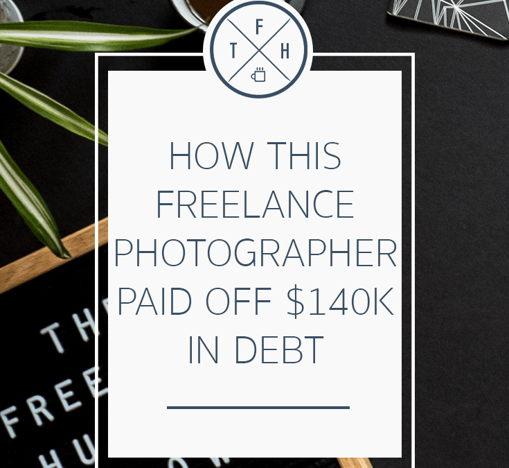 How A Freelance Photographer Paid Off $140k In Debt In 3