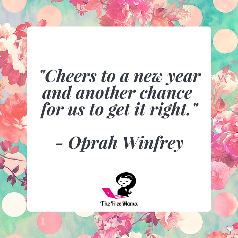 New Year Oprah