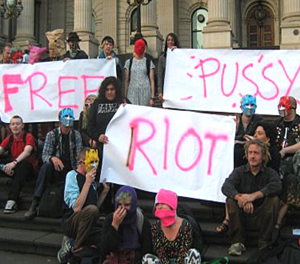 Jailed Russian Rockers 'Pussy Riot' on Hunger Strike (1/6)