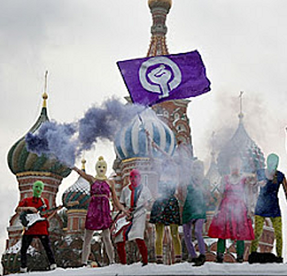 Jailed Russian Rockers 'Pussy Riot' on Hunger Strike (5/6)