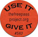 Free Pass Project Token Back