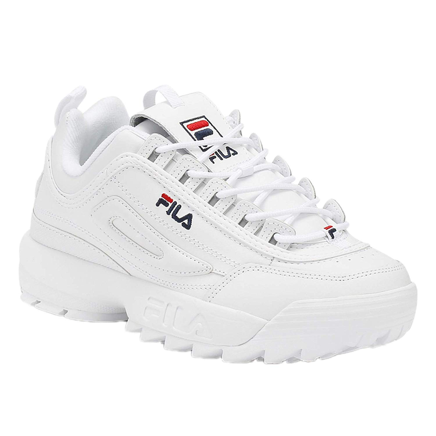 Bullied for my Chunky White Filas