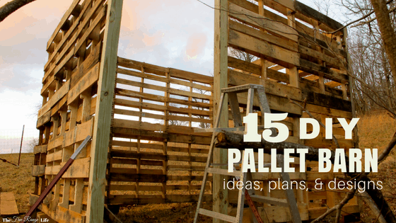 15 DIY Pallet Shed Barn And Building Ideas The Free