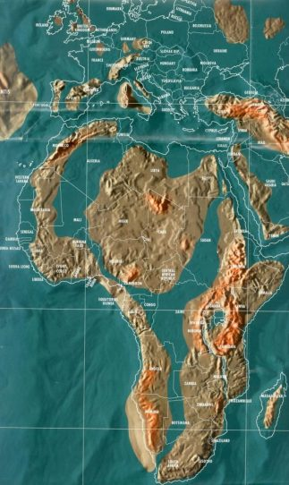 Future map of Africa by Gordon-Michael Scallion, Matrix Institute As The Free Thought Project reported in
