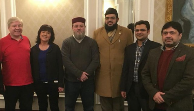 Representatives of Atheist Ireland and the Ahmadiyya Muslim Community