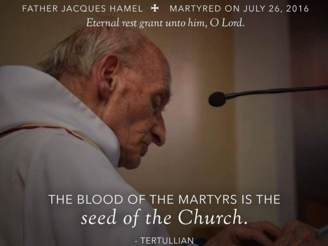 Tertullian and The Blood Of The Martyrs