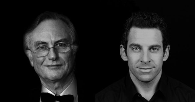 Richard Dawkins and Sam Harris