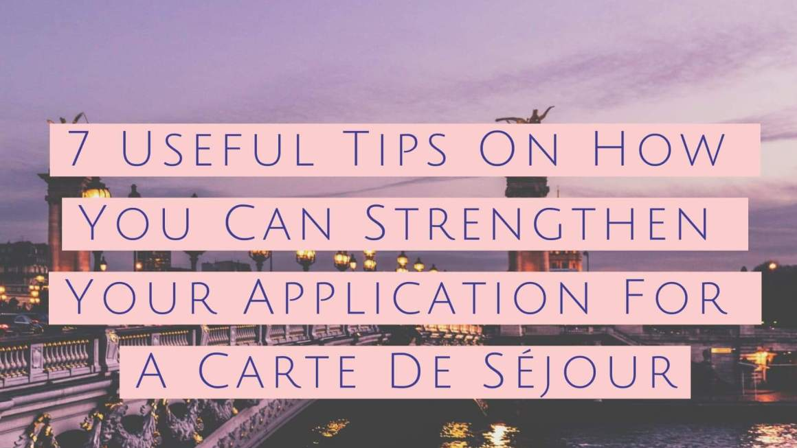 7 Useful Tips On How You Can Strengthen Your Application For