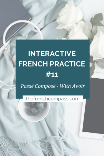 Interactive French Practice 11