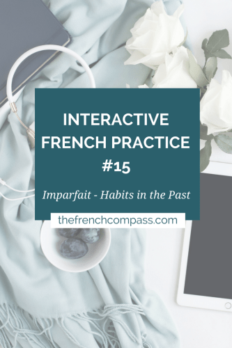 Interactive French Practice 15