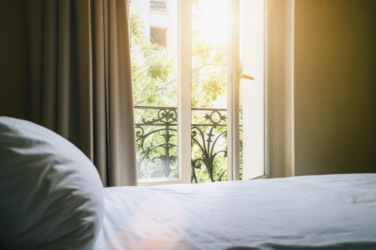 Bed in Paris, Learn French, French Podcast