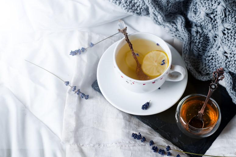 Cup of Tea on Bed, French Podcast