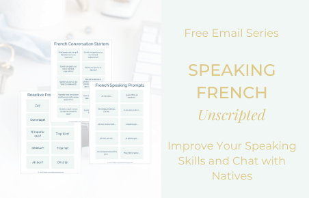 Email Series – Speaking French Unscripted