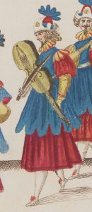 Detail of Musique servant de récit au Grand ballet (1625).