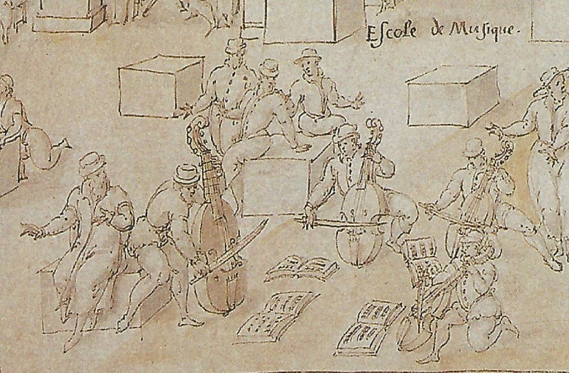 Detail of A