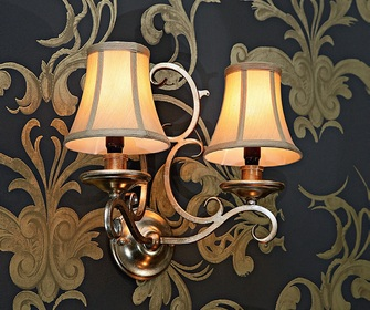 French wall lights • $325