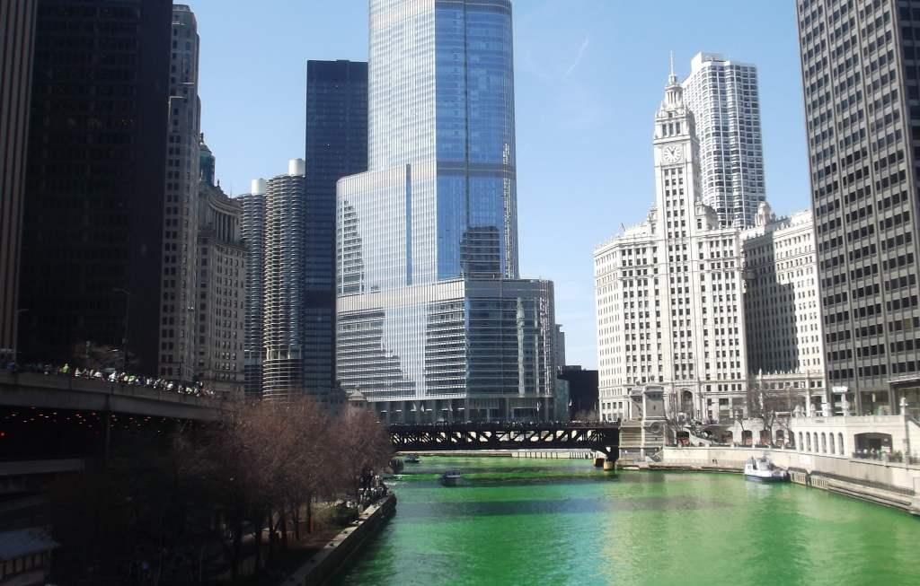 st patrick à Chicago