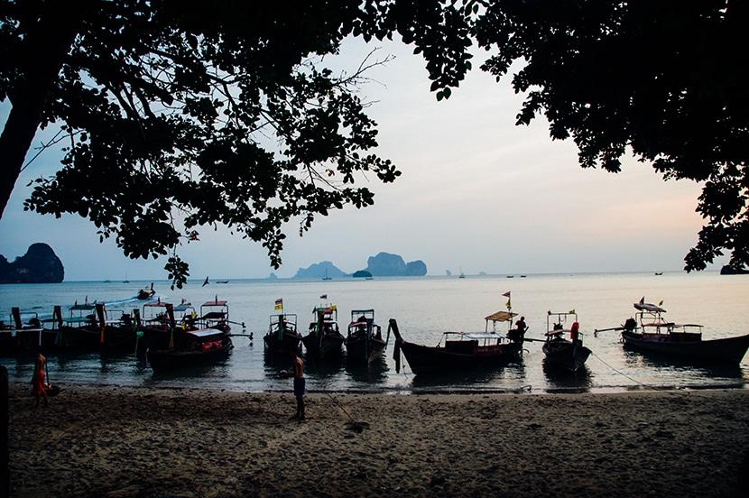 bateau krabi thailande