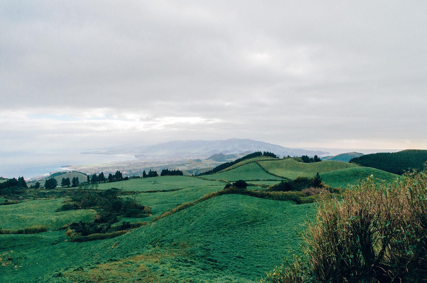 ile sao miguel paysage açores