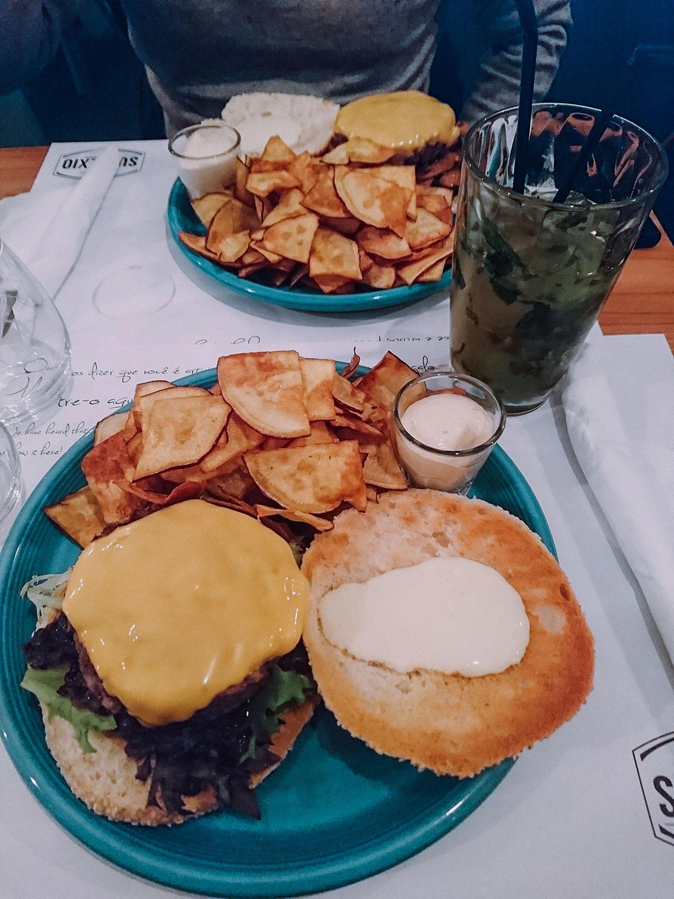 restaurant burger ponta delgada