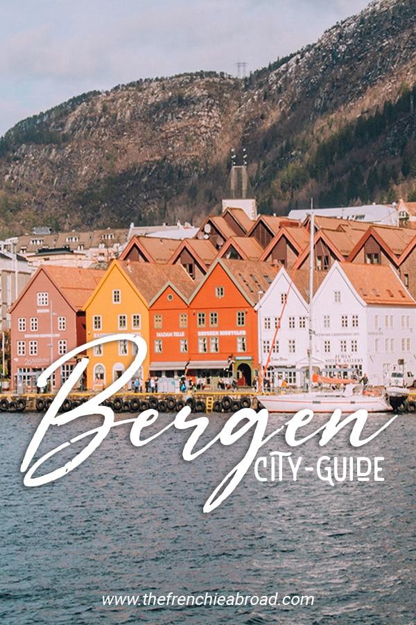 Bergen guide Norvège