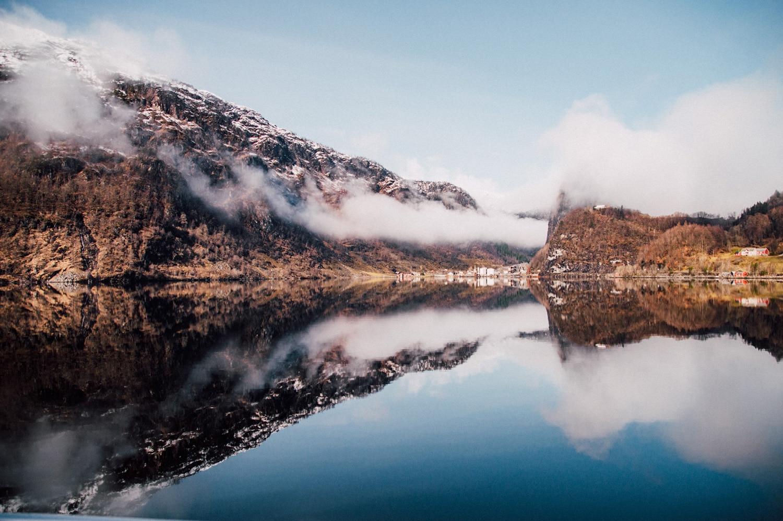 Fjord Mostraumen Bergen