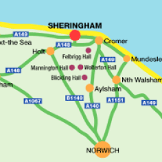 Sheringham in Norfolk