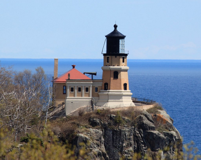 The Lighthouses Of Lake Superior Serie Minnesota The