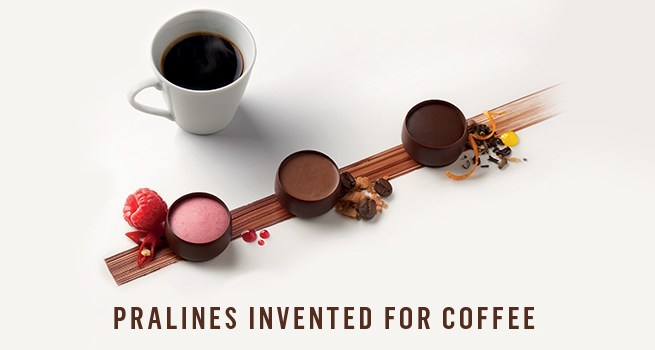 neuhaus coffee and pralines