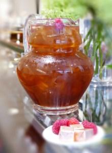 Tea in pitcher